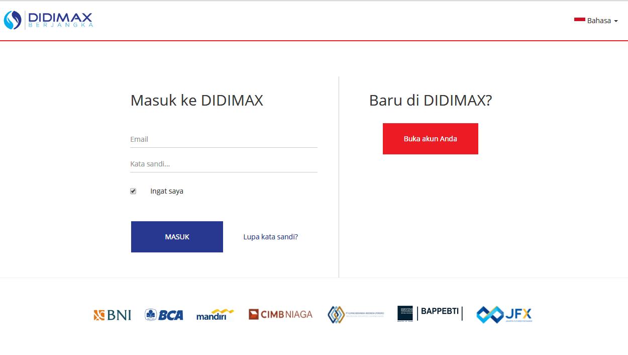 CARA DAFTAR AKUN DEMO TRADING DI DIDIMAX-4