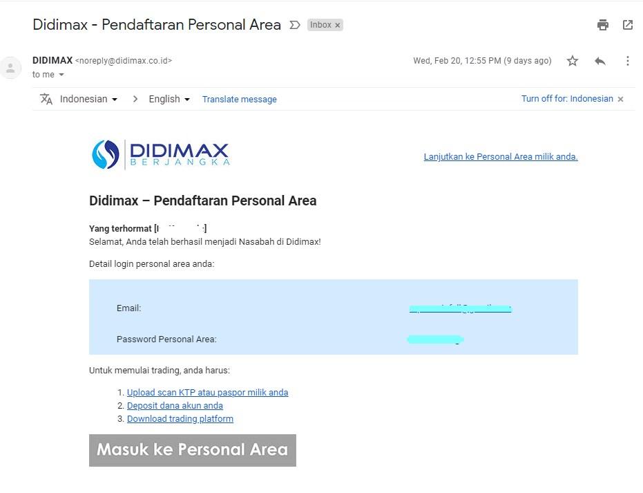 CARA DAFTAR AKUN DEMO TRADING DI DIDIMAX-6