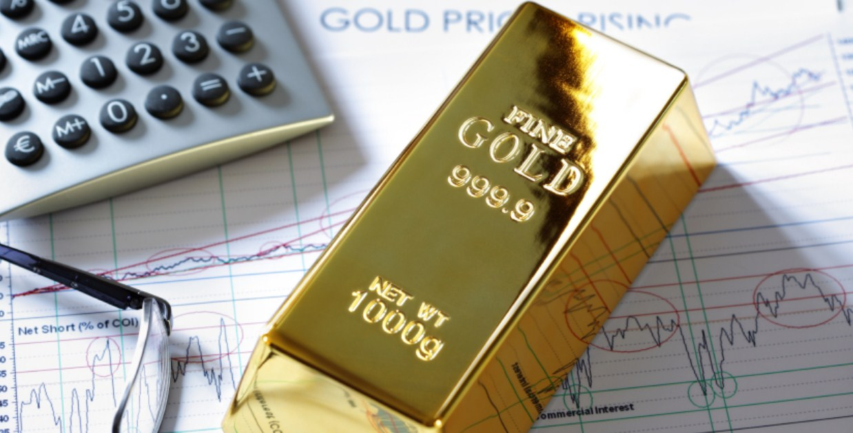 Harga Emas Mendekati Pelemahan Pekan Terbesar Sejak 2017