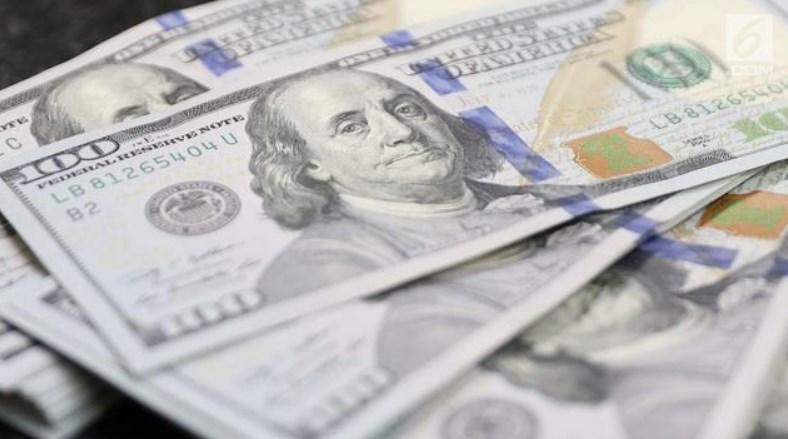 Dolar AS Melemah Akibat Para Investor Memilih Aset Berisiko