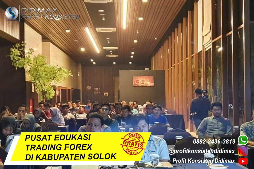 PUSAT EDUKASI TRADING FOREX DI SOLOK SUMATERA BARAT