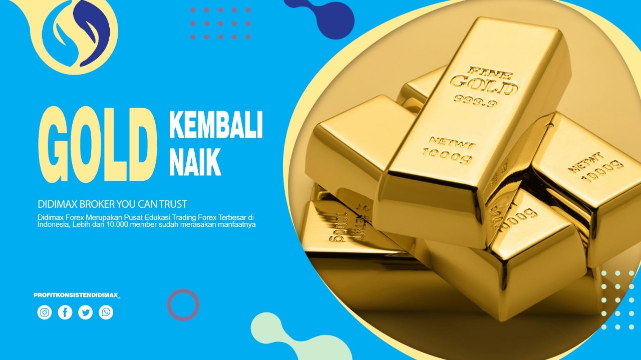 Emas kembali naik setelah stimulus the fed