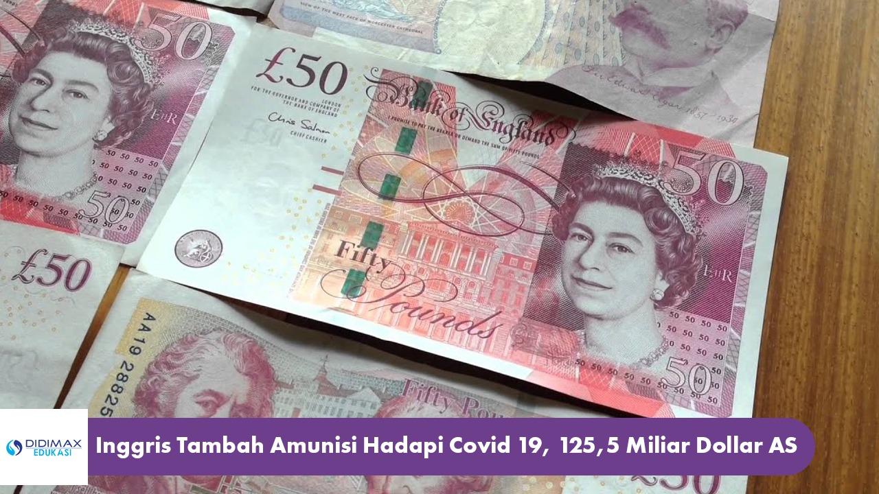 Inggris Tambah Amunisi Hadapi Covid