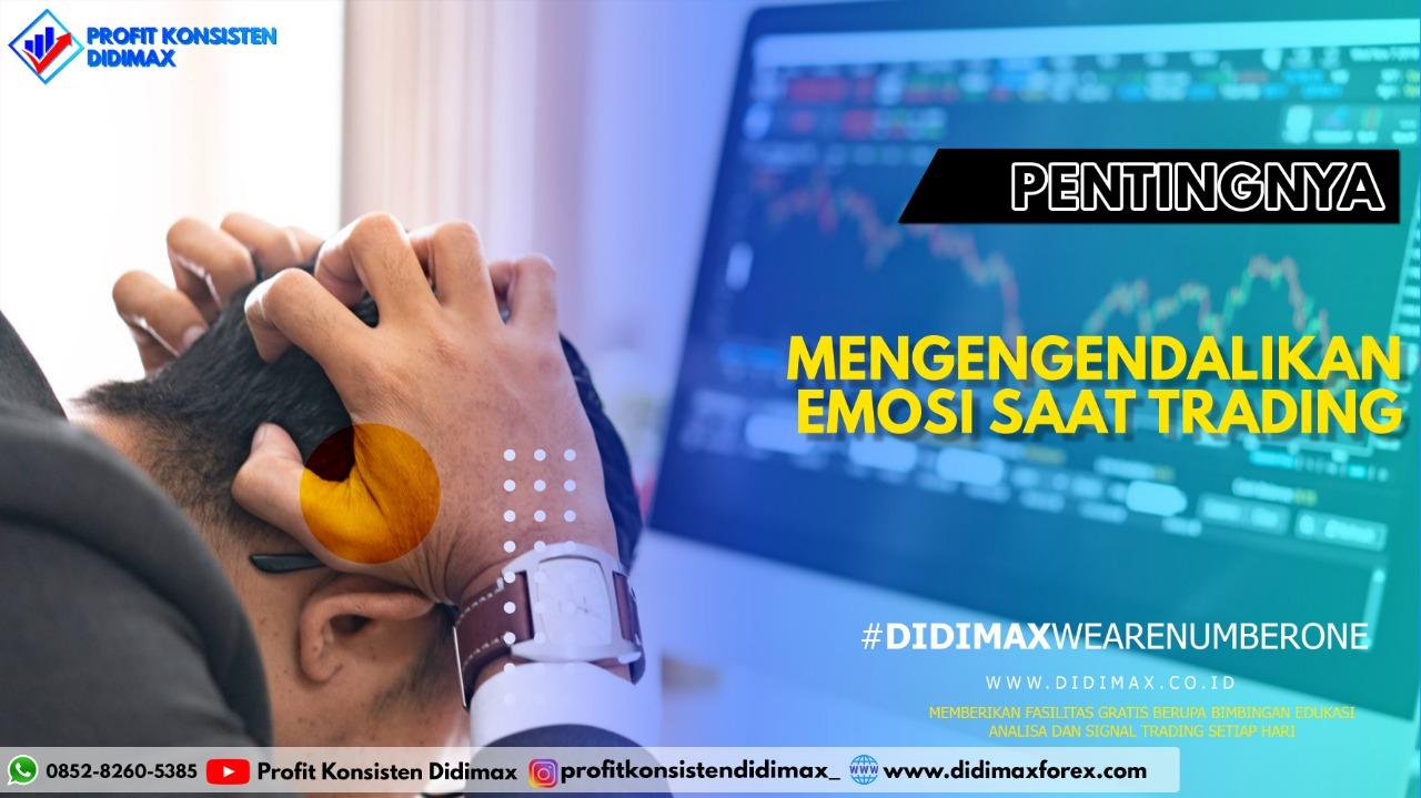 Pentingnya Mengendalikan Emosi Saat Trading