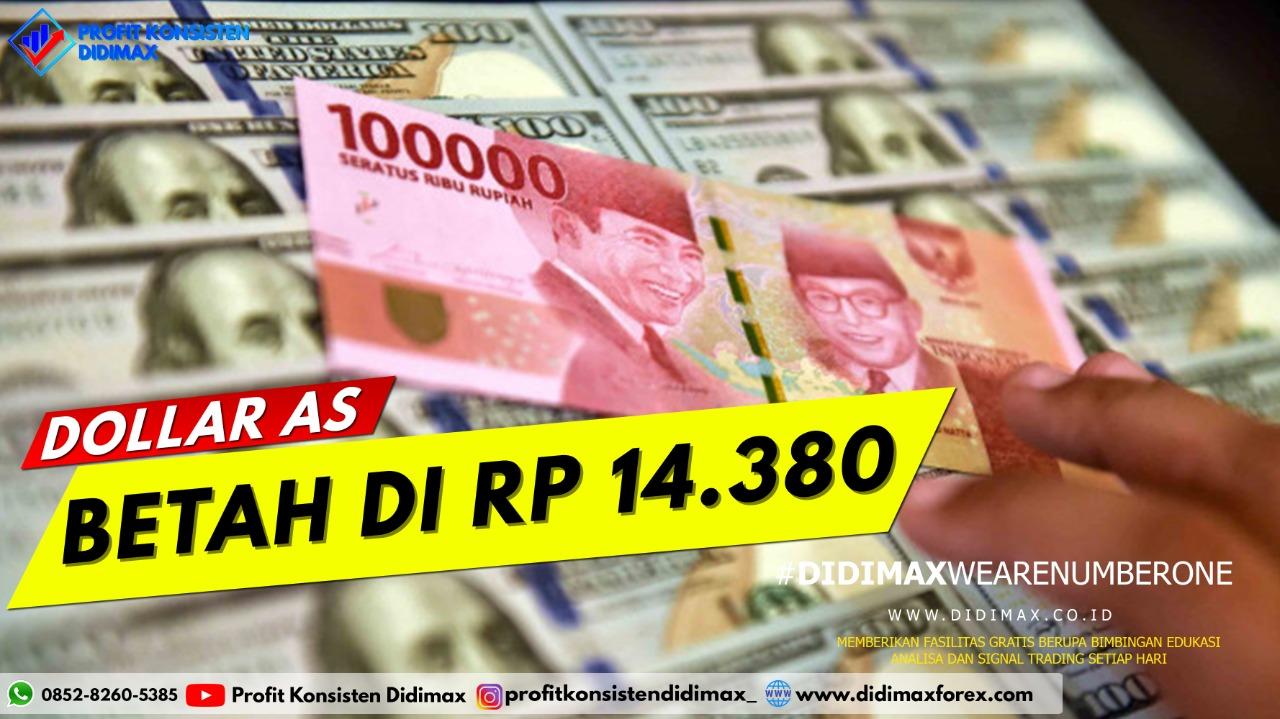 Dolar AS Menguat Dekati Rp 14.500