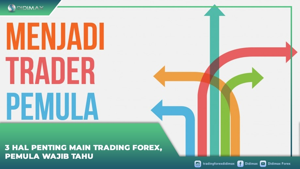 3 Hal Penting Main Trading Forex, Pemula Wajib Tahu
