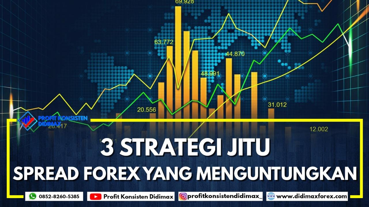 3 Strategi Jitu Spread Forex yang Menguntungkan