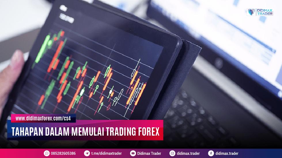 Tahapan Dalam Memulai Trading Forex