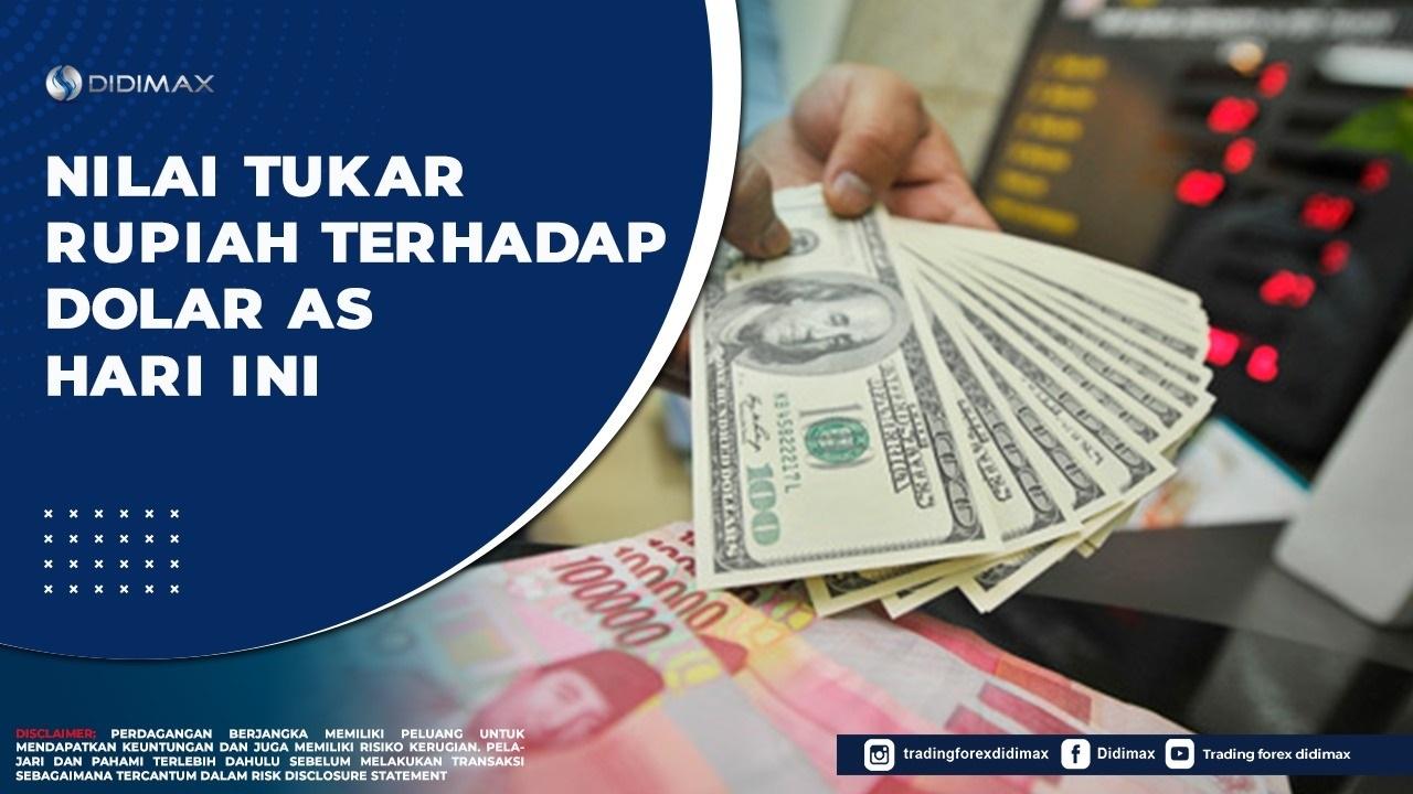 Nilai Tukar Rupiah terhadap Dolar AS Hari Ini, 15 September 2020