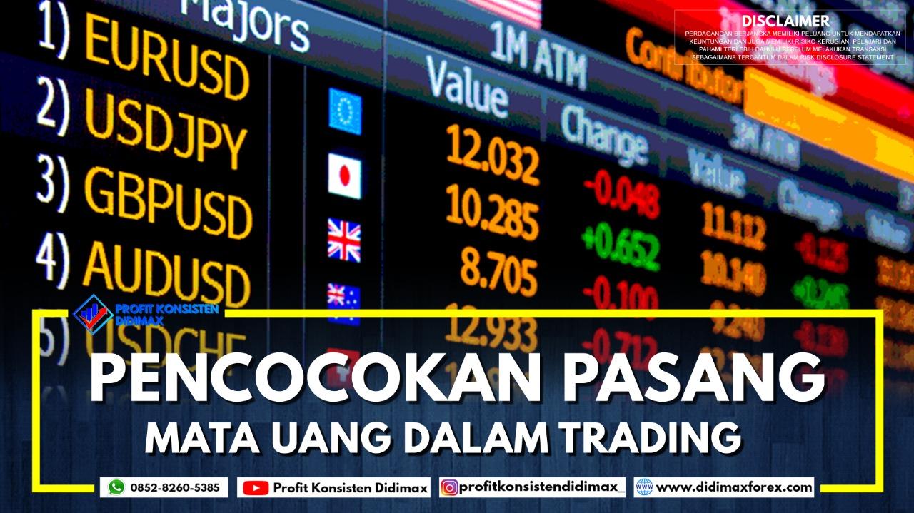 Pencocokan Pasangan Mata Uang dalam Trading