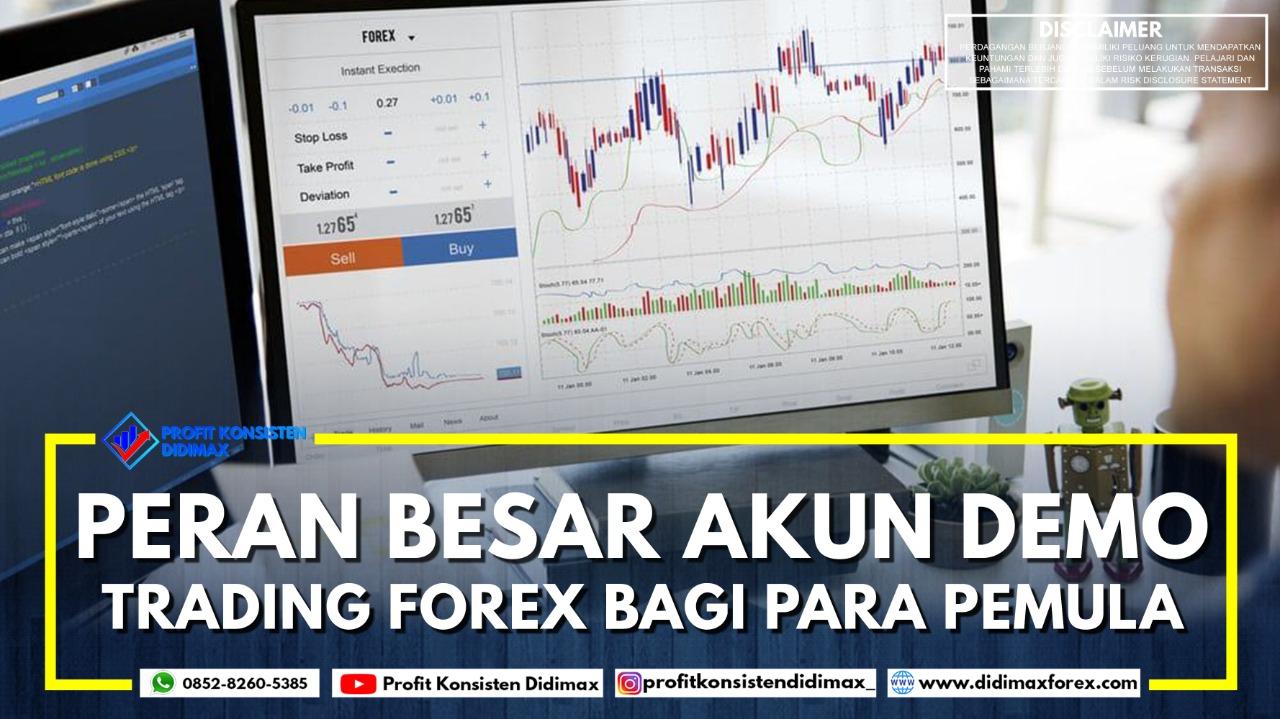 Peran Besar Akun Demo Trading Forex Bagi Para Pemula