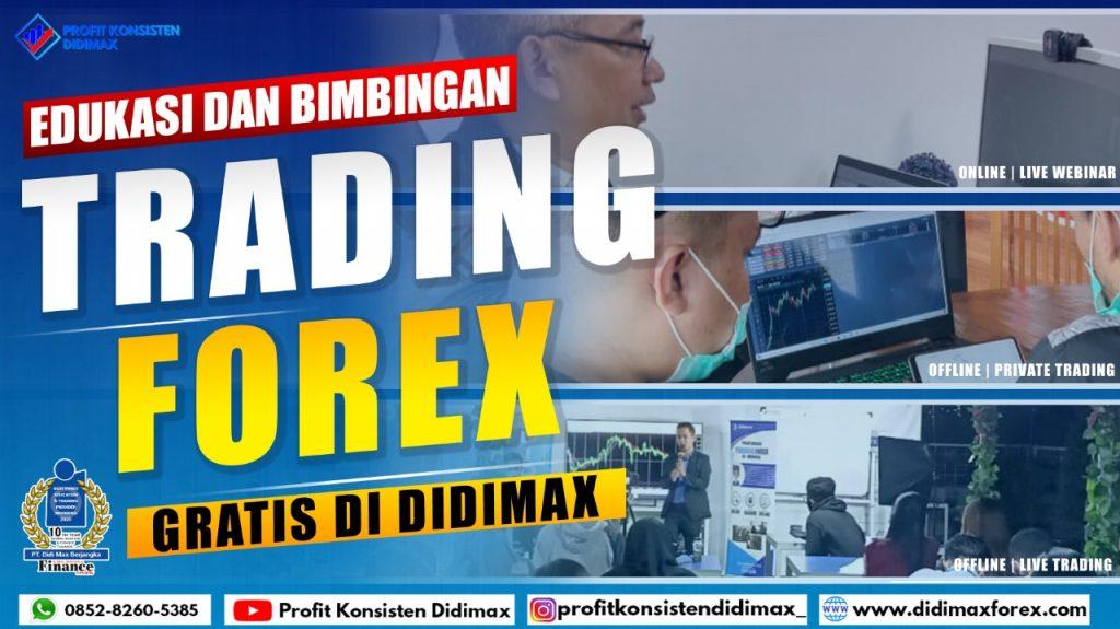 Edukasi dan Bimbingan Trading Forex Gratis di Didimax