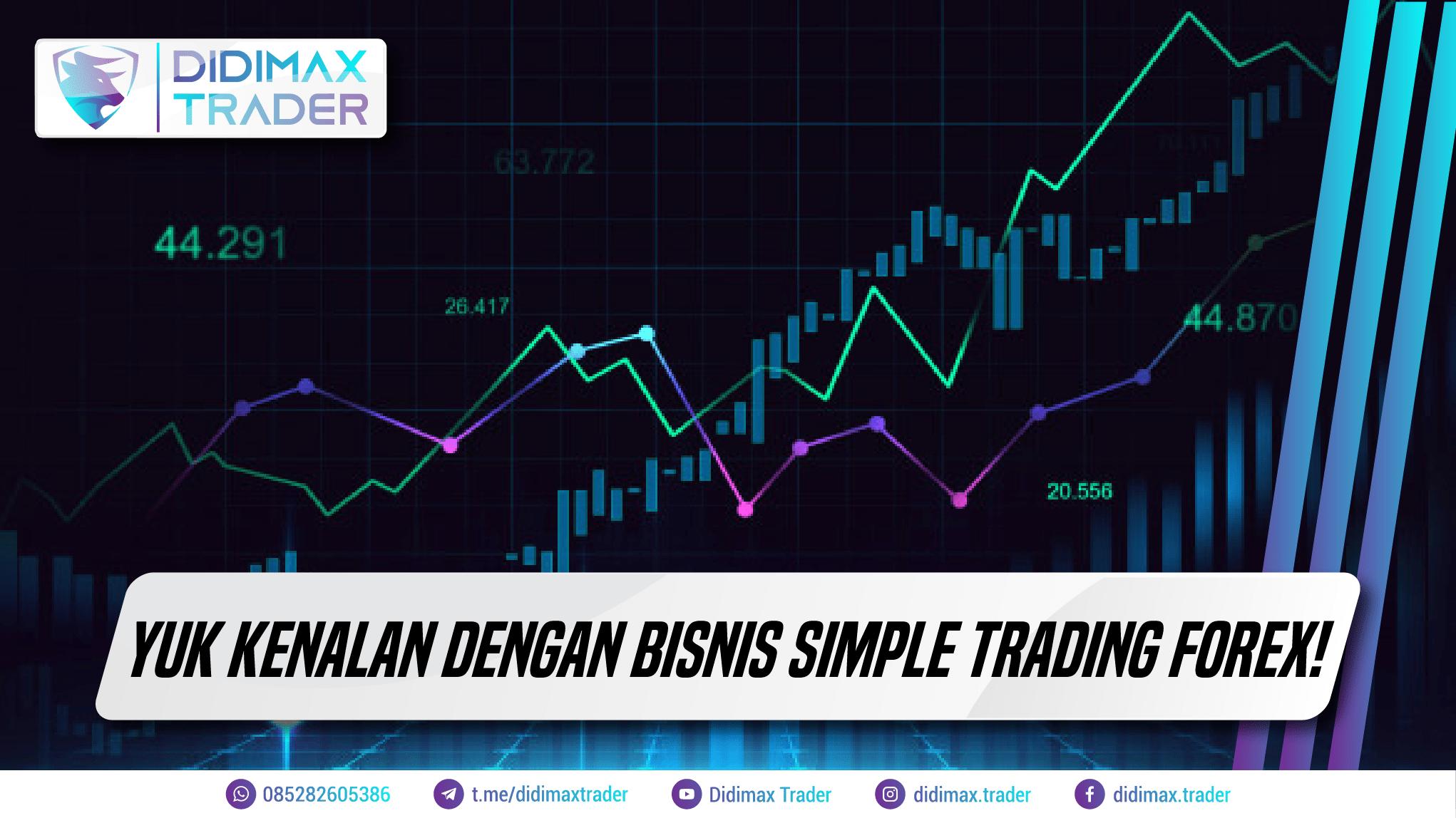 Yuk Kenalan Dengan Bisnis Simple Trading Forex!