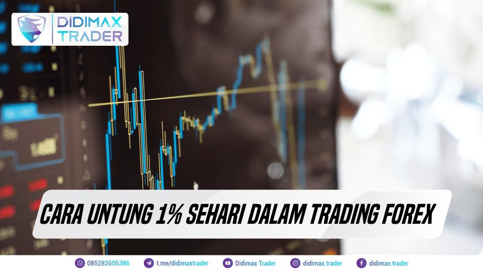 Cara Untung 1% Sehari dalam Trading Forex