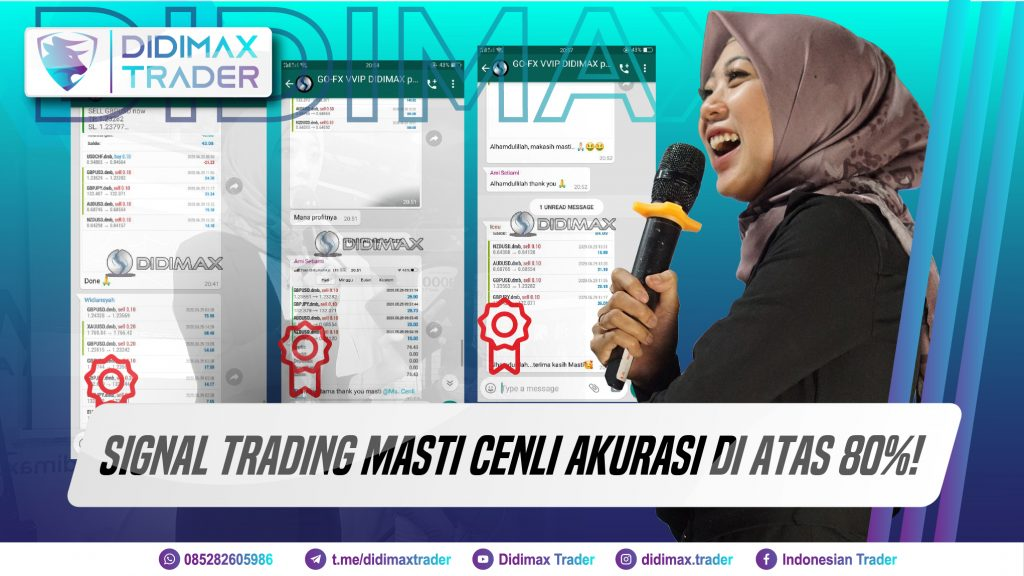 Signal Trading Masti Cenli Akurasi di Atas 80%!