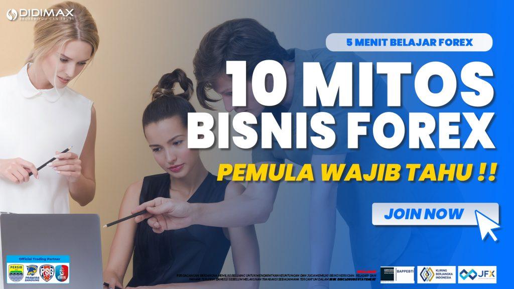 10 MITOS TRADING FOREX | PEMULA WAJIB TAHU