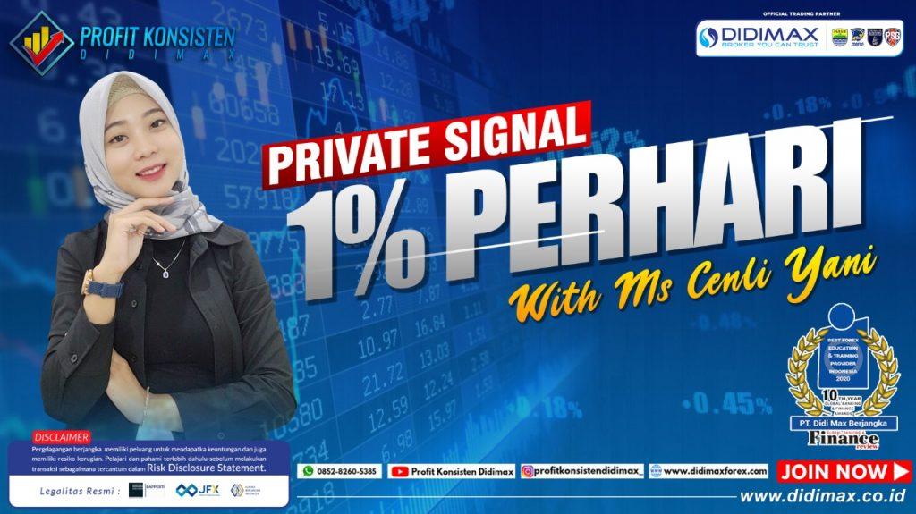 PRIVATE SIGNAL 1% PERHARI WITH MS CENLI