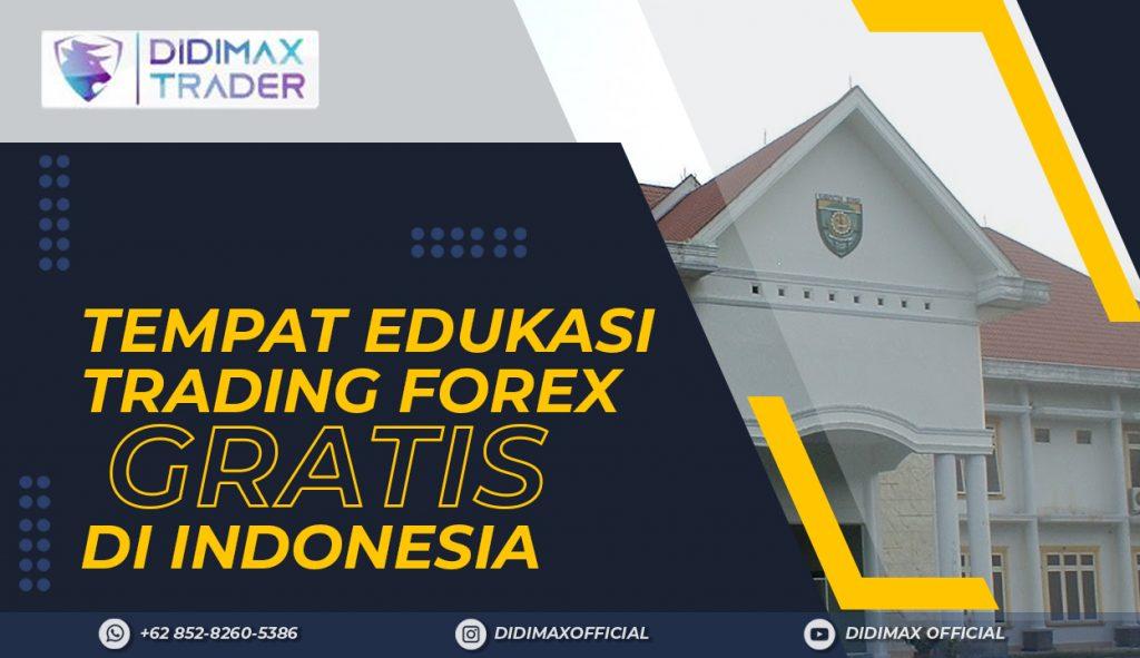 TEMPAT EDUKASI FOREX TRADING GRATIS DI KABUPATEN BUNGO INDONESIA