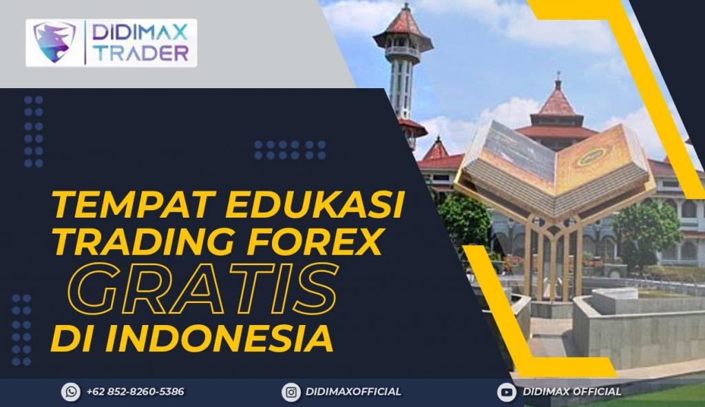 TEMPAT EDUKASI FOREX TRADING GRATIS DI KABUPATEN CIANJUR INDONESIA