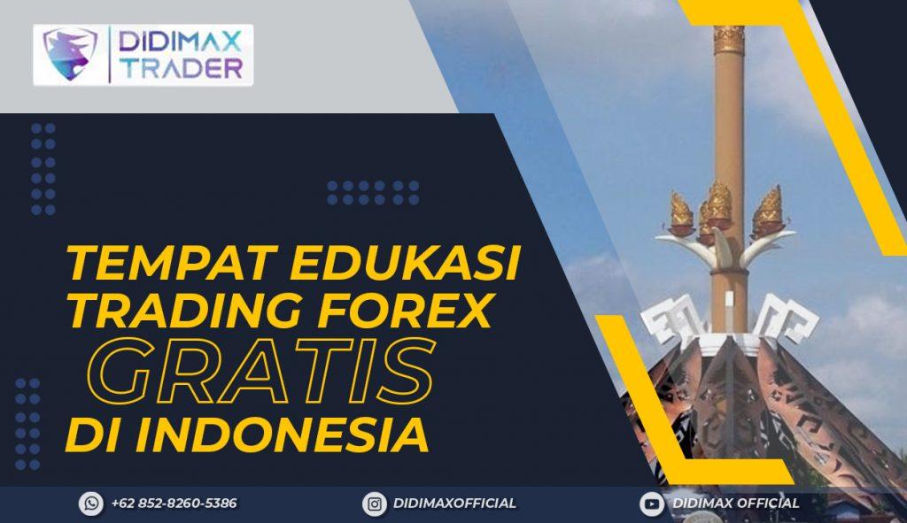 TEMPAT EDUKASI FOREX TRADING GRATIS DI KABUPATEN LAMPUNG UTARA INDONESIA