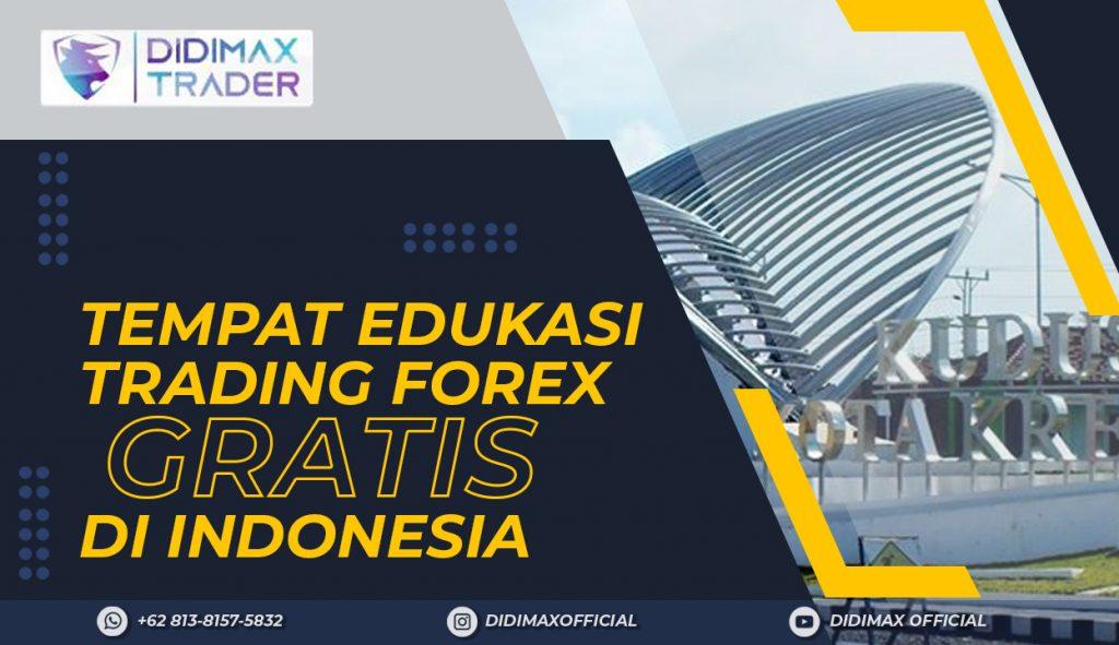 TEMPAT EDUKASI FOREX TRADING GRATIS DI KABUPATEN KUDUS INDONESIA